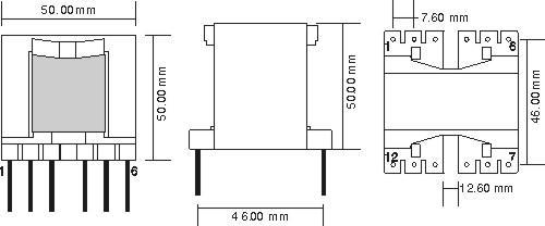 供应pq5050型高频电子变压器